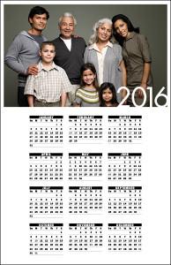 Single Page Calendar