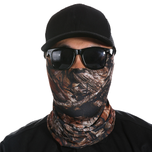 Cowl Neck Style Face Mask